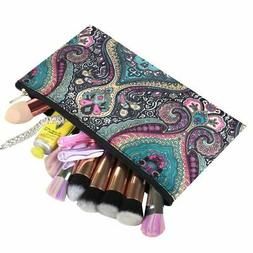Women Small Cosmetic Bag Makeup Organizer for Camping Hiking