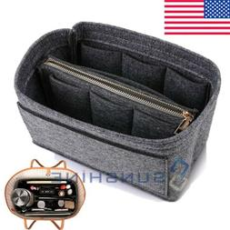 Travel Insert Handbag Liner Organizer Women Storage Bag Purs