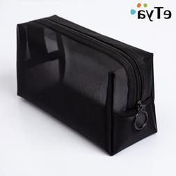 eTya Women Transparent Cosmetic <font><b>Bag</b></font> Trav