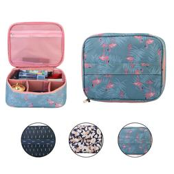 Women Travel Cosmetic Bag Makeup Case Pouch Toiletry Wash Or