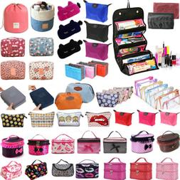 Women Travel Toiletry Cosmetic Beauty Makeup Case Handbag Or
