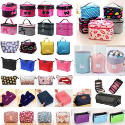 Womens Travel Cosmetic Case Toiletry Makeup Handbag Organize